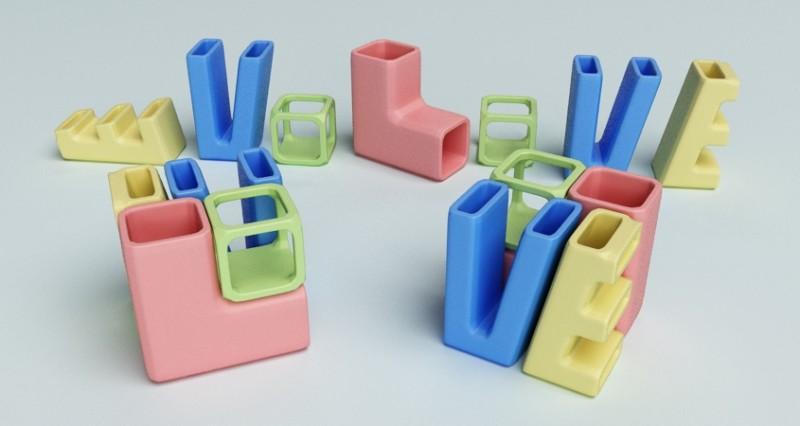 modello per stampa tridimensionale concorso CERAMIC CHALLENGE